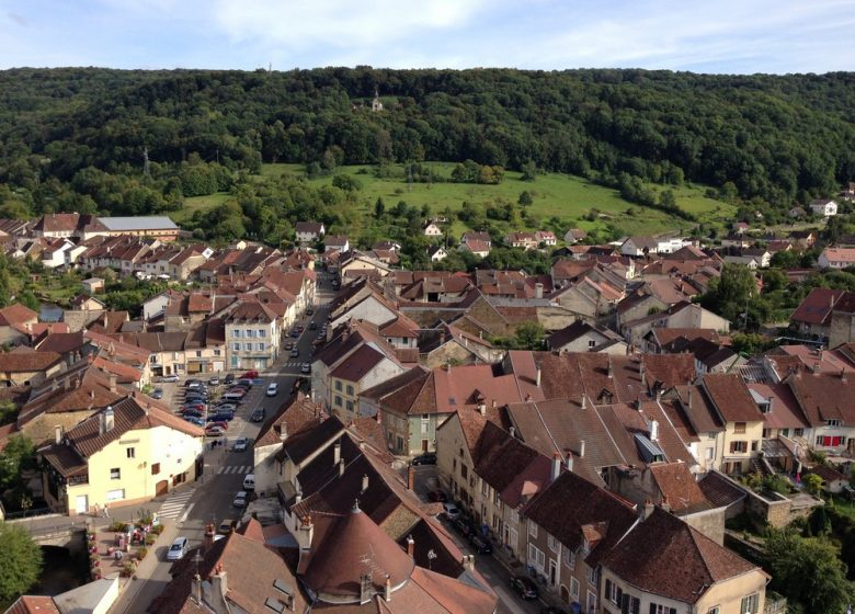 Week-end du biou : montee au clocher saint-just