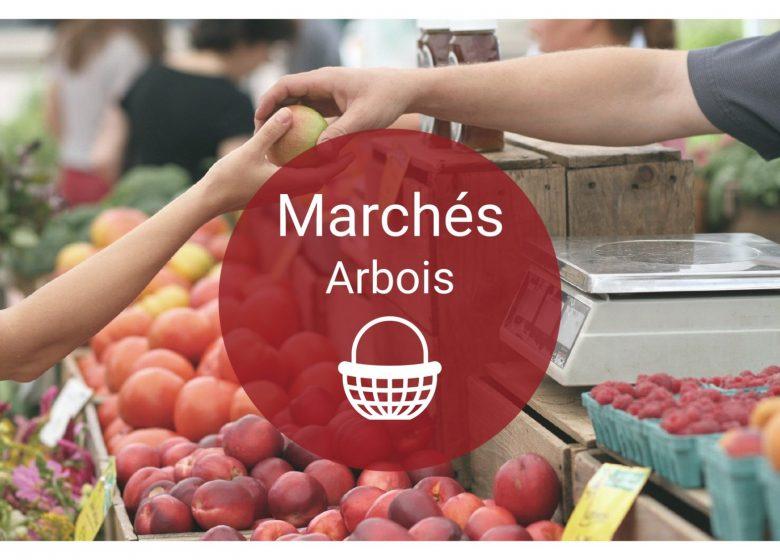 Marchés d'Arbois